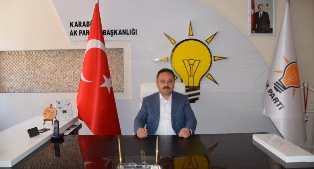 AK Parti Karabük İl Başkanı Av. İsmail Altınöz'ün Mevlid Kandili Mesajı