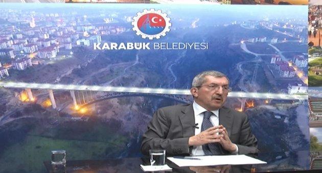 Başkan Vergili BRTV Ekranlarında Açıklamalarda Bulundu