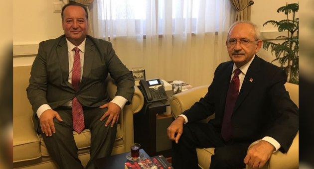 Cevdet Akay'dan Kılıçdaroğlu'na Ziyaret
