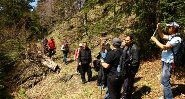 Eskipazar İdarecileri Doğa Yürüyüşünde