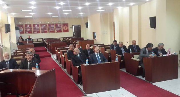 İl Genel Meclisinde Sözen Kavgası