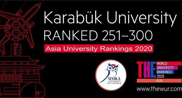 KBÜ, Asya'nın en iyi üniversiteleri arasında