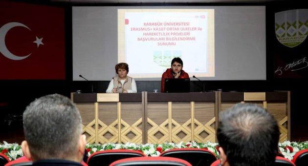 KBÜ'de, Erasmus bilgilendirmesi