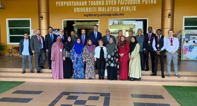 KBÜ ile Malezya Perlis Üniversitesi ortak konferans düzenledi