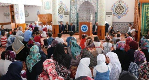 Kur'an Kurslarına Protokollü Kapanış