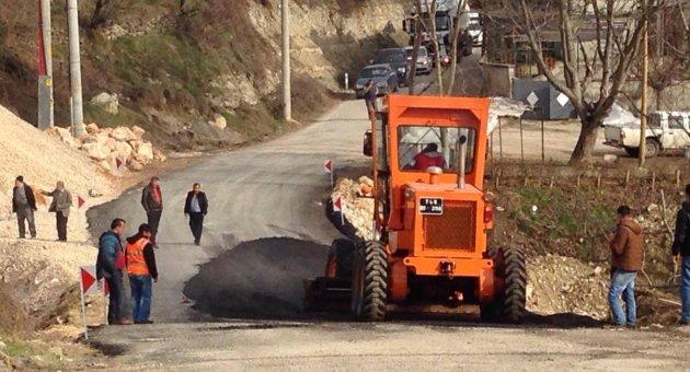 Karabük – Kastamonu arasına Servis Yolu Açıldı