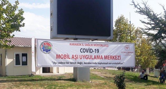 Mobil Aşı Uygulama Merkezi Açıldı