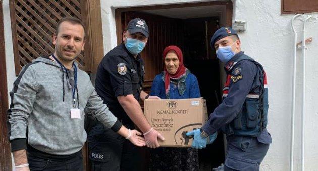 Safranbolu Vefa Sosyal Destek Ekibi Zaman Kaybetmeden Çalışmalarına Başladı