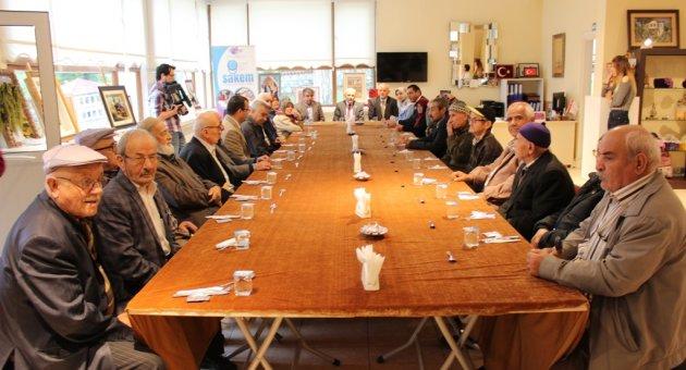 Safranbolu'da yaşlılar unutulmadı