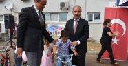 250 Çocuğa Bisiklet Verildi