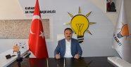 AK Parti Karabük İl Başkanı Av. İsmail Altınöz'den Kutlama Mesajı