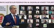 """""""ANADOLU BASINI KİMLİĞİNE, MESLEĞİNE VE GELECEĞİNE SAHİP ÇIKMALIDIR"""""""
