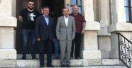Başkan Vergili'den Araç Belediye Başkanı Sarıkaya'ya Ziyaret