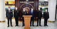 Jandarma Genel Komutanı Orgeneral Arif Çetin, Vali Fuat Gürel'i Ziyaret Etti