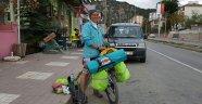Karadeniz'i Bisikletle Geçecek