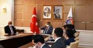 KÖYDES Değerlendirme Toplantısı Vali Fuat Gürel'in Başkanlığında Yapıldı