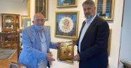 Rektör Polat'tan, Türker İnanoğlu'na ziyaret