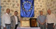 """Safranbolu """"Avrupa Şeref Plaketi""""ni Aldı"""