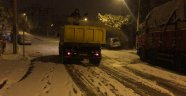 Safranbolu Belediyesi'nin 24 Saatlik Kar Mesaisi