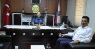 Safranbolu İlçe Emniyet Müdürü Gül'e,  hayırlı olsun ziyaretleri devam ediyor