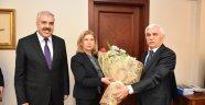 """Vali Alimoğlu'na """"26 Ocak Dünya Gümrük Günü"""" Ziyareti"""