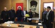 Vali Fuat Gürel ve CHP heyetinden KGİD'e ziyaret