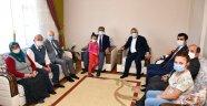 Vali Gürel ve Milletvekili Ünal'dan Şehit Ailesi ziyareti