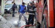 Yangın nedeniyle panikleyen kadın balkondan atladı