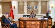 Ziraat Bankası Yeni Şube Müdüründen Vali Gürel'e ziyaret
