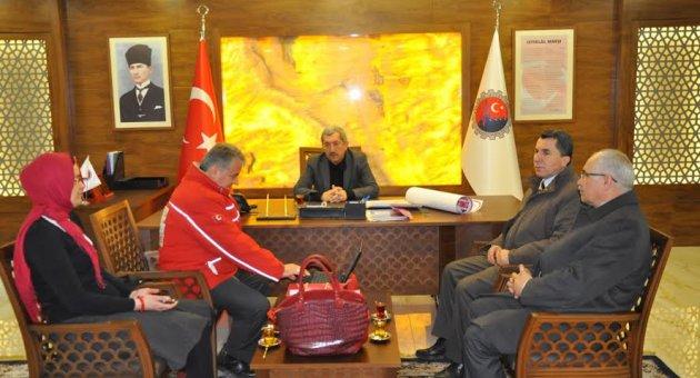 Türk Kızılayı Safranbolu Şubesinden Başkan Vergili'ye Ziyaret