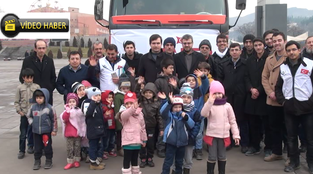 Hayrat Vakfı Suriye'ye 2 Tır Yardım Gönderdi