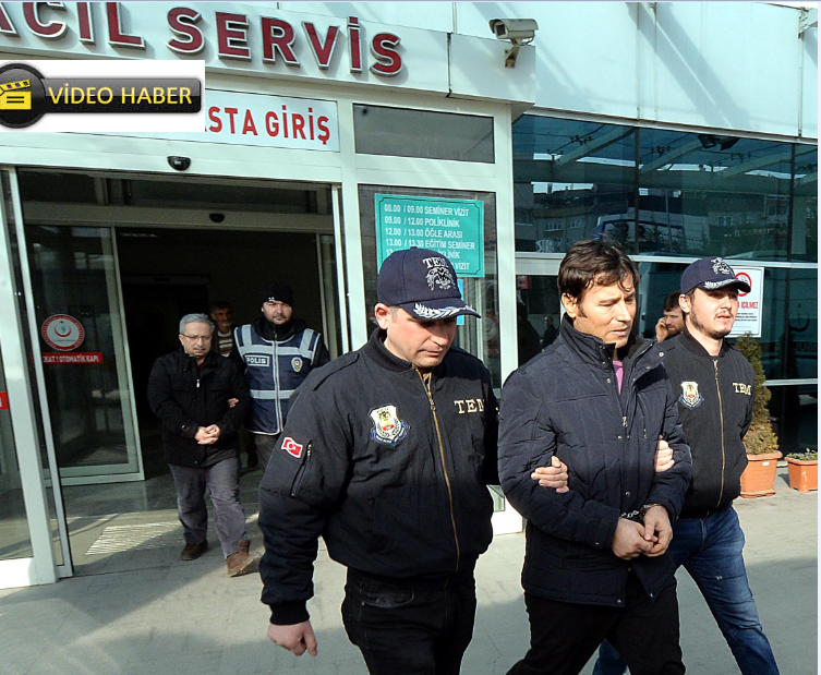 Karabük'te FETÖ Operasyonu:10 Zanlı Gözaltında