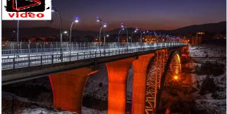 Kanyon Köprü Işıklandırma Çalışmaları Tamamlandı